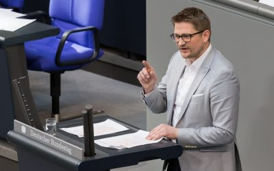 Bundestagsrede zu Flüchtlingsbürgschaften