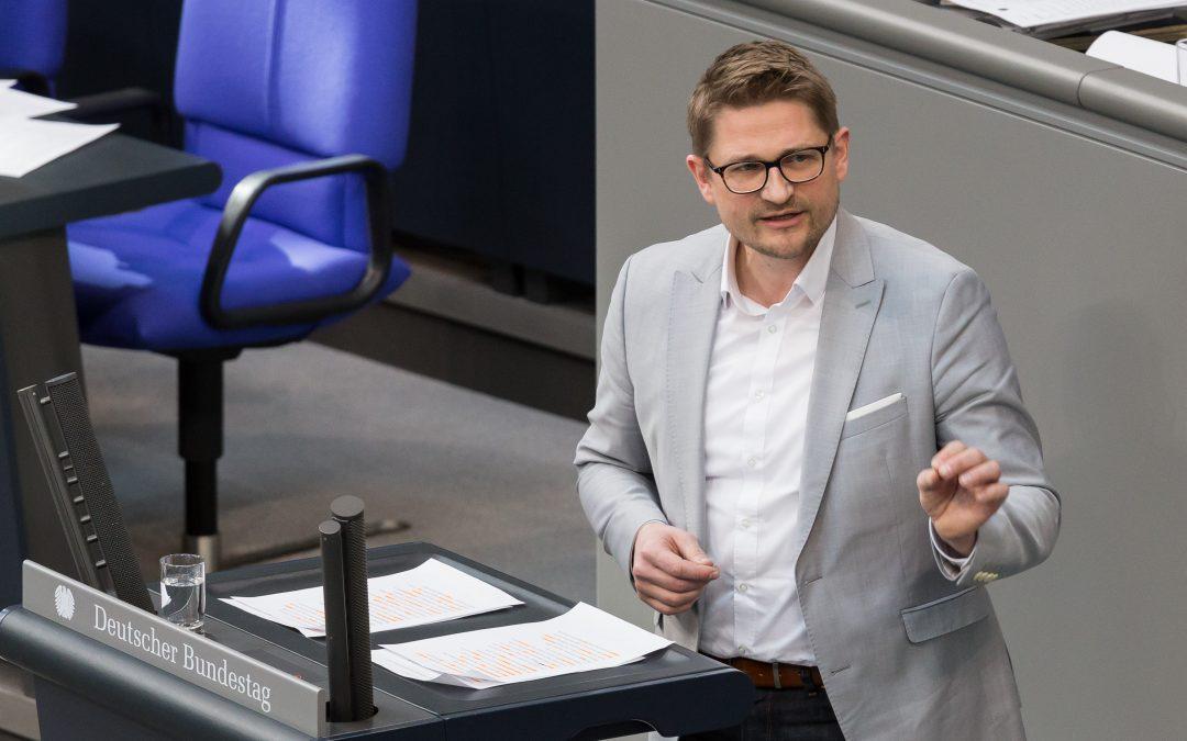 """Bundestagsrede zum """"Sozialen Arbeitsmarkt"""""""