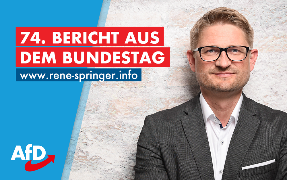 74. Bericht aus dem Bundestag